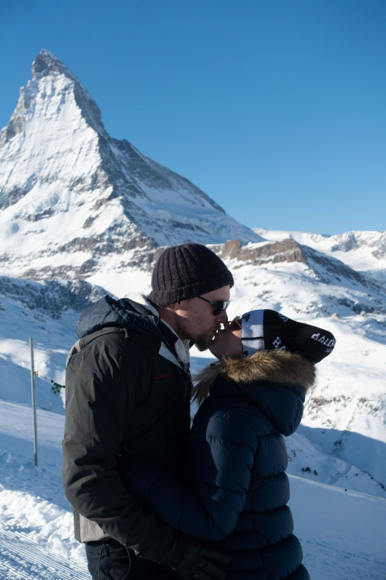 Kaley Cuoco On Her Honeymoon In Zermatt Switzerland 12 15