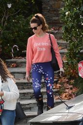 Kate Beckinsale - Heads to the Gym in LA 12/10/2018