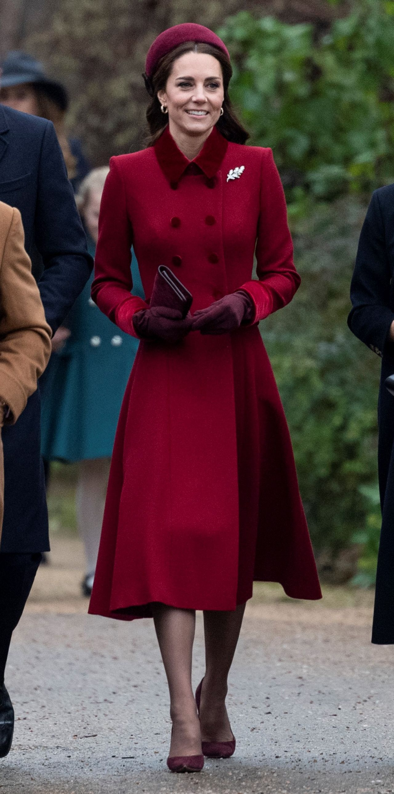Kate Middleton Christmas Day Church Service In King S
