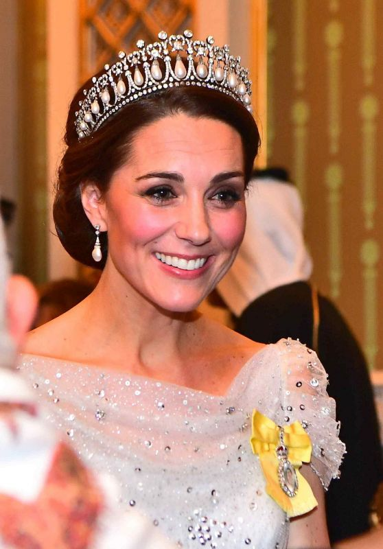 Kate Middleton - Reception for Members of the Diplomatic Corps at Buckingham Palace in London