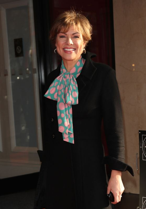 Kate Silverton – The TRIC Christmas Lunch in London 12/11/2018