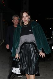 Katherine McPhee Night Out Style 12/16/2018