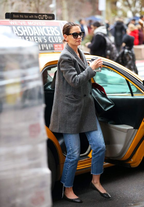 Katie Holmes - Out in New York 12/17/2018