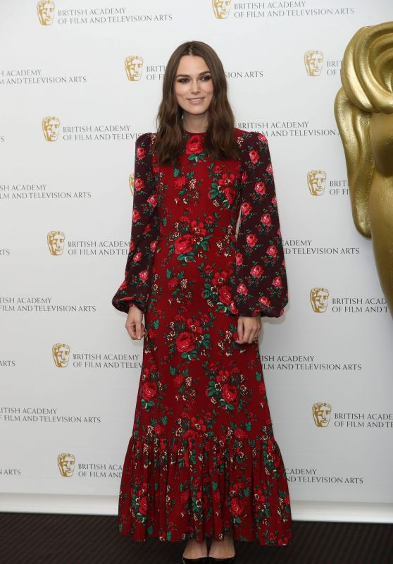 """Keira Knightley - """"A Life In Pictures"""" Photocall at BAFTA in London"""