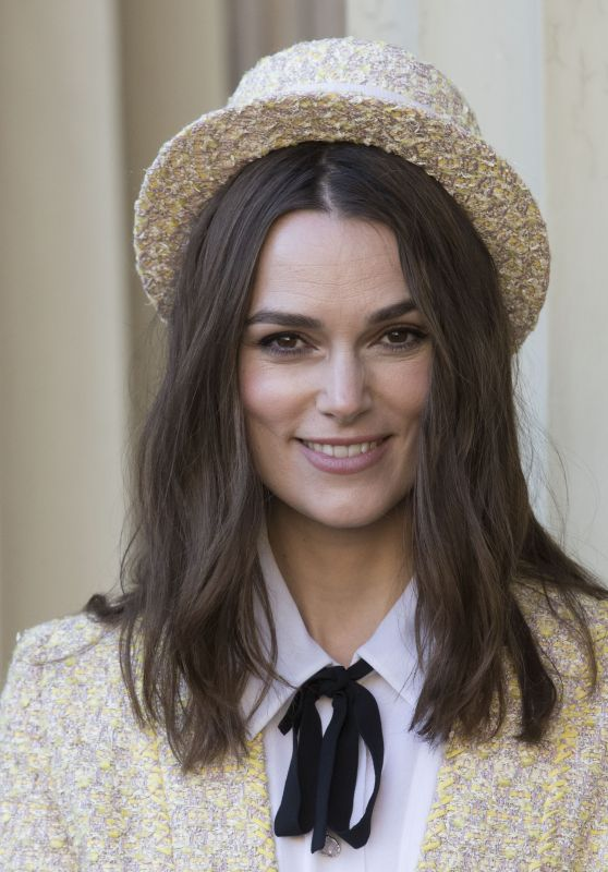 Keira Knightley - Investiture at Buckingham Palace in London 12/13/2018