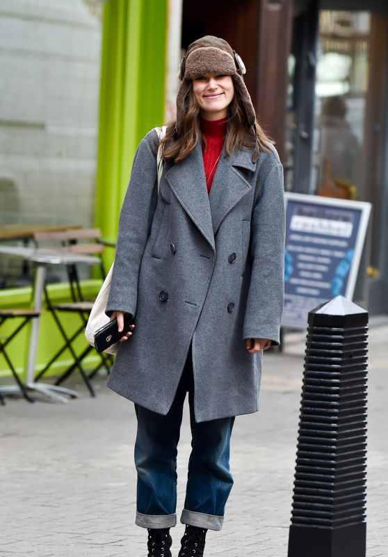 Keira Knightley - Out in East London 12/19/2018