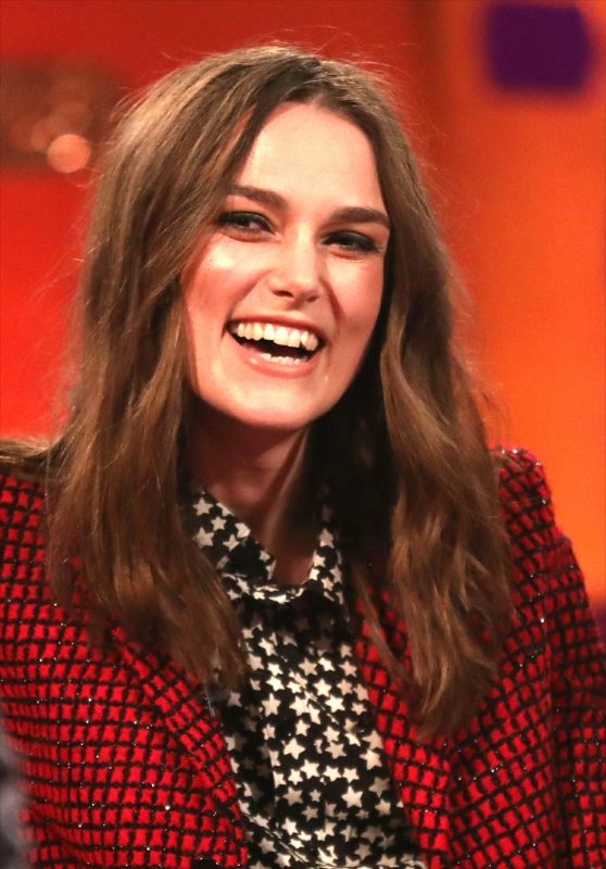 Keira Knightley - The Graham Norton Show in London 12/28/2018