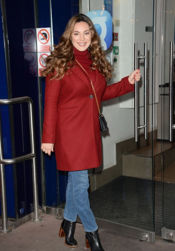 Kelly Brook - Arriving at Global House in London 12/04/2018