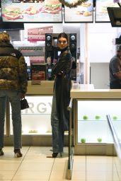 Kendall Jenner at a McDonald