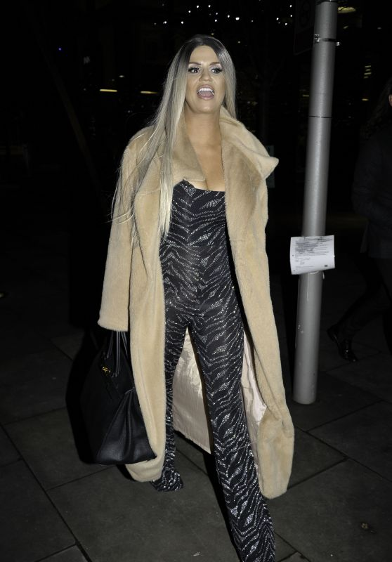 Kerry Katona Night Out Style 12/10/2018