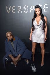 Kim Kardashian and Kanye West – Versace Pre-Fall 2019 Fashion Show in NYC