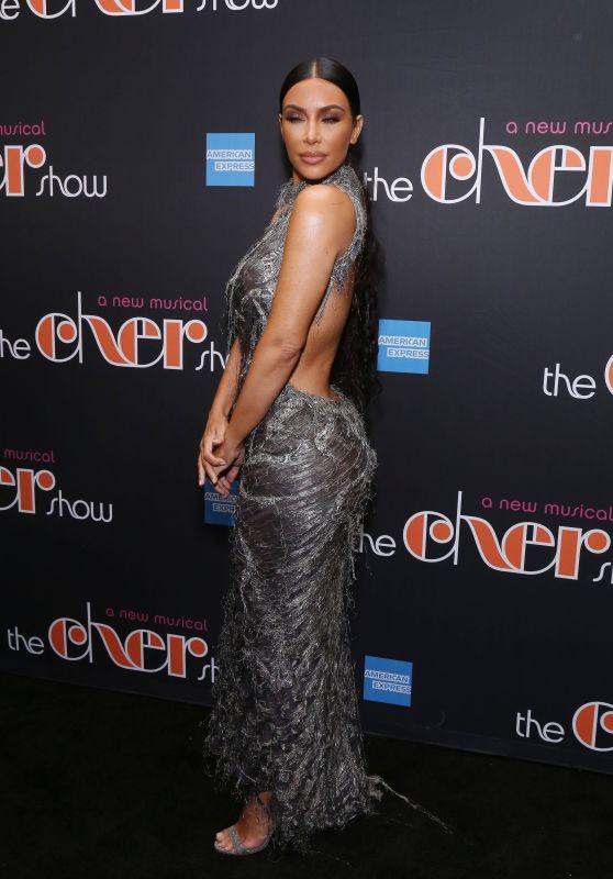 Kim Kardashian - Cher Show Opening Night in NY