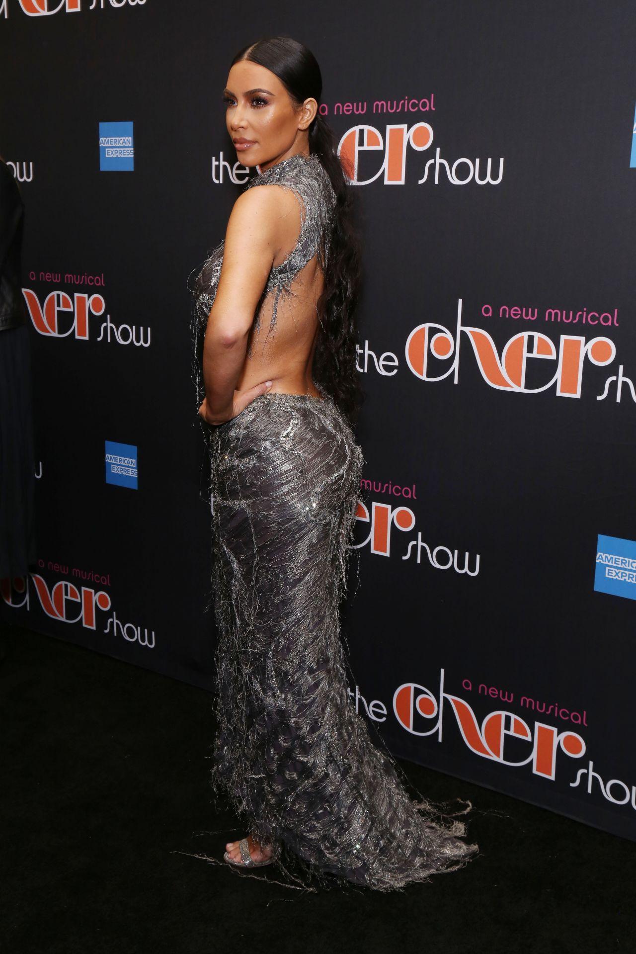 Kim Kardashian Cher Show Opening Night In Ny