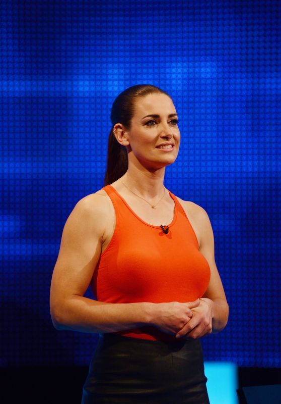 "Kirsty Gallacher - ""The Chase Celebrity Special"" TV Show E8 12/02/2018"