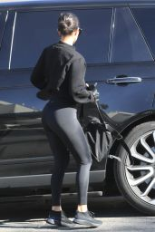 Kourtney Kardashian in Spandex 12/03/2018