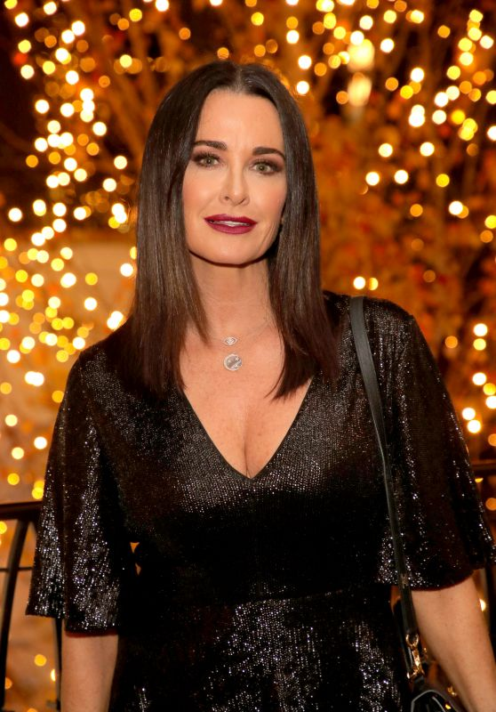 Kyle Richards - Rachel Zoe Palisades Village Holiday Celebration in LA