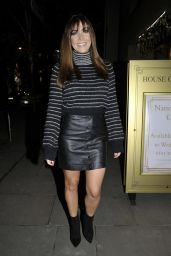 Kym Marsh - Turning the Christmas Lights on at The House Of Evelyn in Manchester