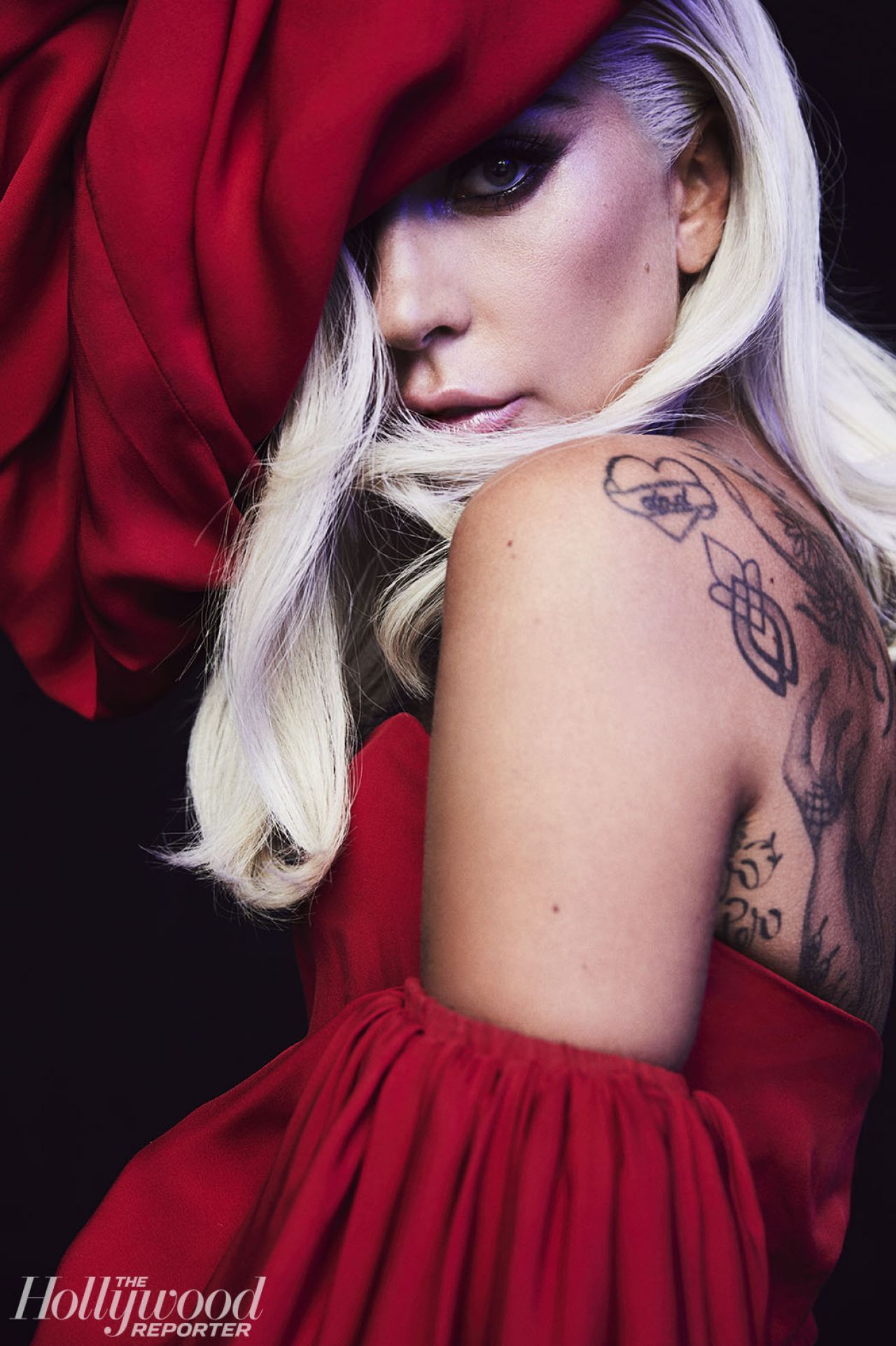 Lady Gaga Photoshoot For Hollywood Reporter 2018