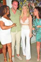 Laura Anderson – Virgin Holidays Departure Beach Launch in Barbados