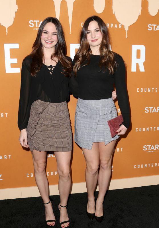 """Laura Bellini and Sarah Bellini - """"Counterpart"""" Season 2 Premiere in LA"""