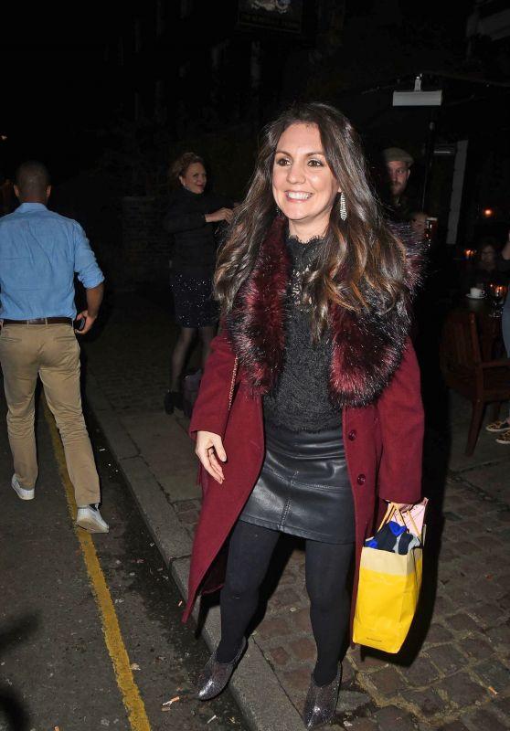 Laura Tobin – Piers Morgan's Christmas Party in London