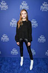 "Lauren Orlando - ""Mary Poppins Returns"" Special Screening in Toronto 12/06/2018"