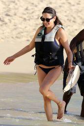 Lauren Silverman in Bikini at the Beach in Barbados 12/12/2018