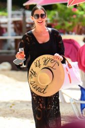 Lauren Silverman in Swimsuit at the Beach in Barbados 12/18/2018