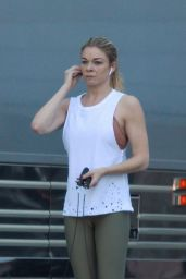 LeAnn Rimes Working Out 12/15/2018