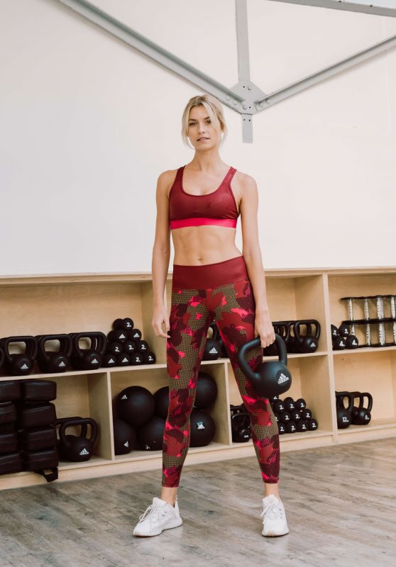 Lena Gercke - Adidas Statement Collection 2018/19