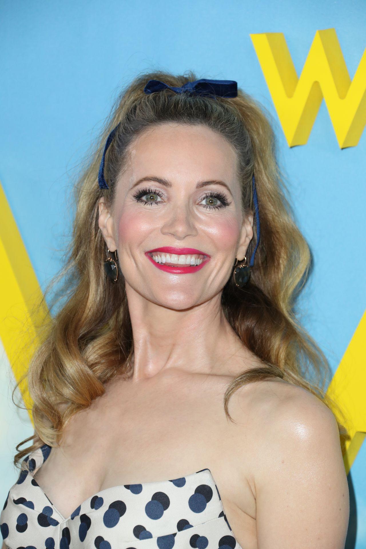 Leslie Mann Welcome To Marwen Premiere In La