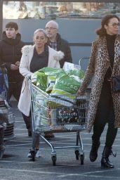 Lilly Becker - Shopping at Waitrose Supermarket in London 12/24/2018