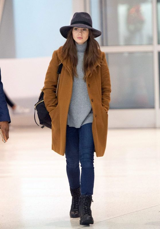 Lily Collins Fall Style 12/02/2018