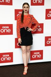 "Lily Collins - ""Les Miserables"" Photocall in London"