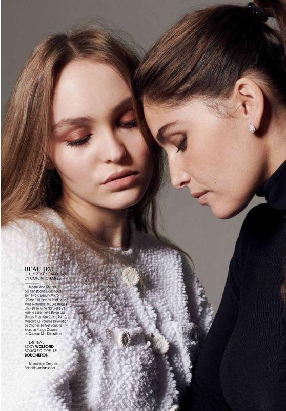 Lily-Rose Depp and Laetitia Casta - Madame Figaro 12/14/2018