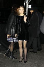 Lily-Rose Depp - Arriving at the CHANEL Metiers d