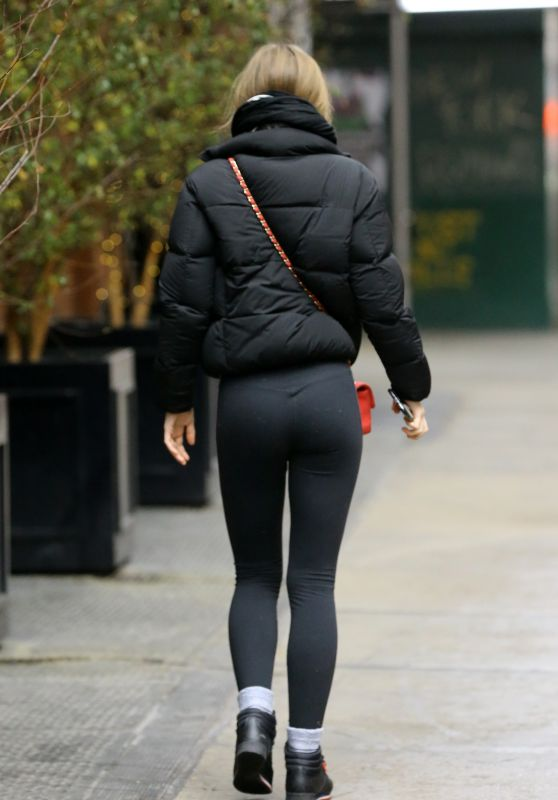 Lily-Rose Depp Booty in Spandex 12/13/2018