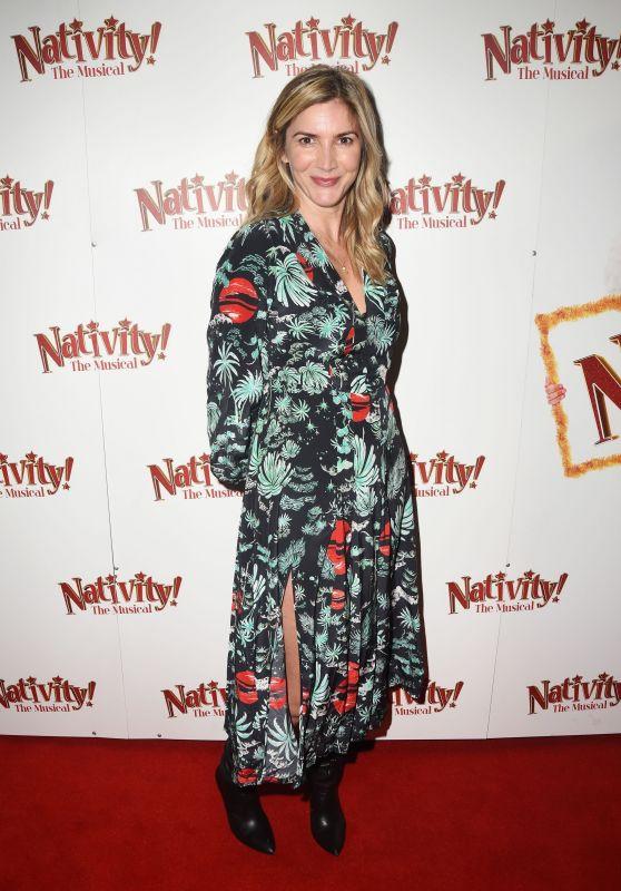 "Lisa Faulkner – ""Nativity The Musical"" Musical Gala Night in London"