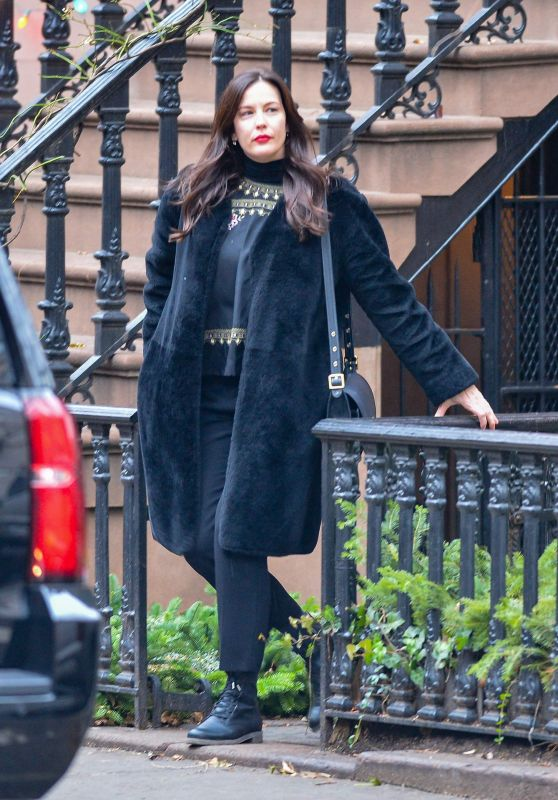Liv Tyler - Out in New York City 12/22/2018