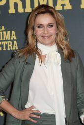 """Lucia Mascino – """"La Prima Pietra"""" Photocall in Rome"""