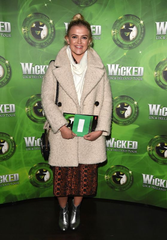 Lucy Fallon – Wicked Press Night in Manchester