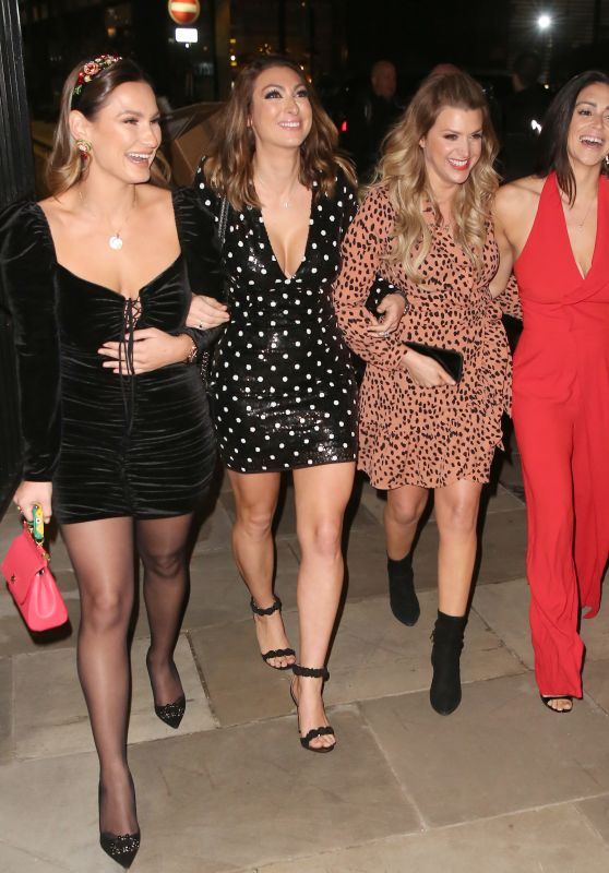 Luisa Zissman, Lizzie Cundy, Casey Batchelor and Sam Faiers - Loose Lips Podcast Live At Devonshire Club in London