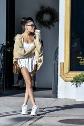 Madison Beer and Zack Bia - Urth Cafe in Los Angeles 12/03/2018
