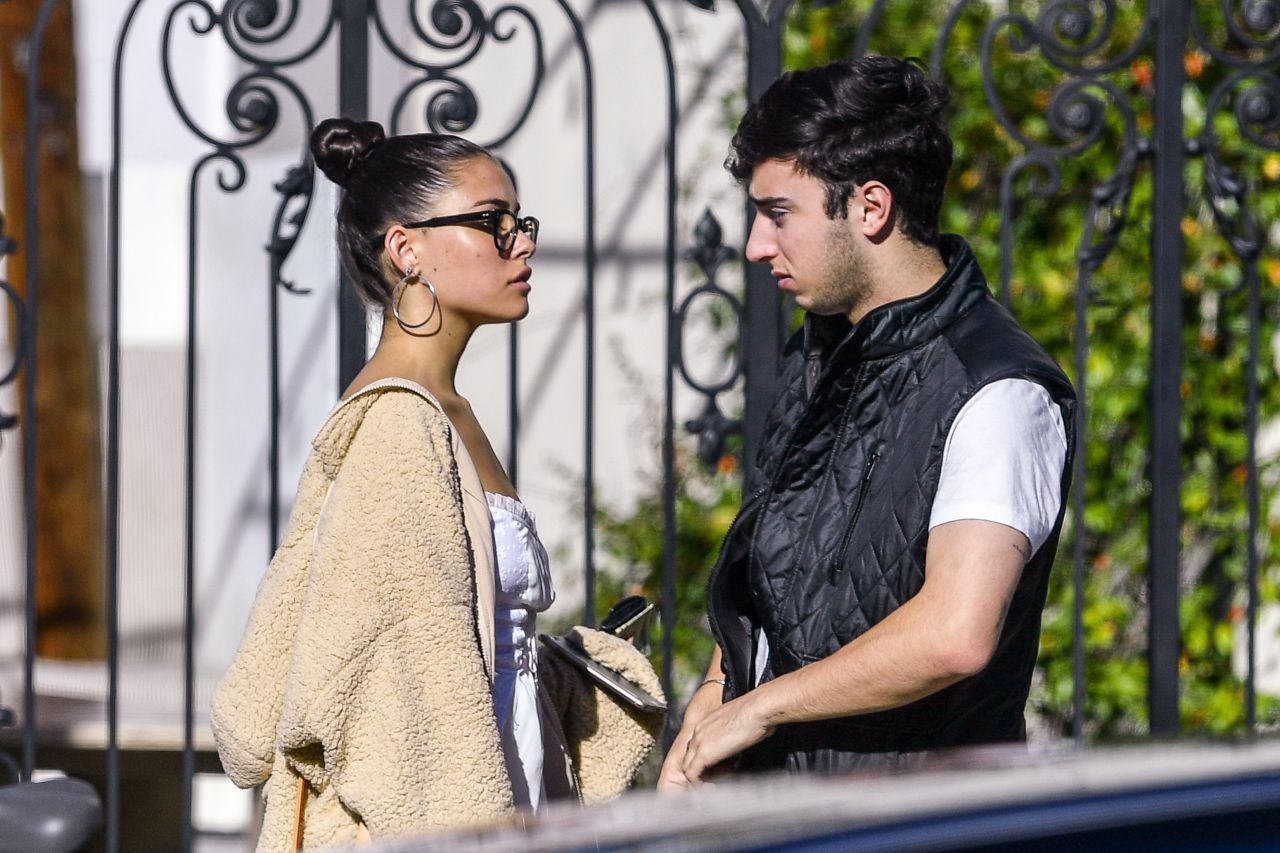 Madison Beer and Zack Bia – Urth Cafe in Los Angeles 12/03/2018