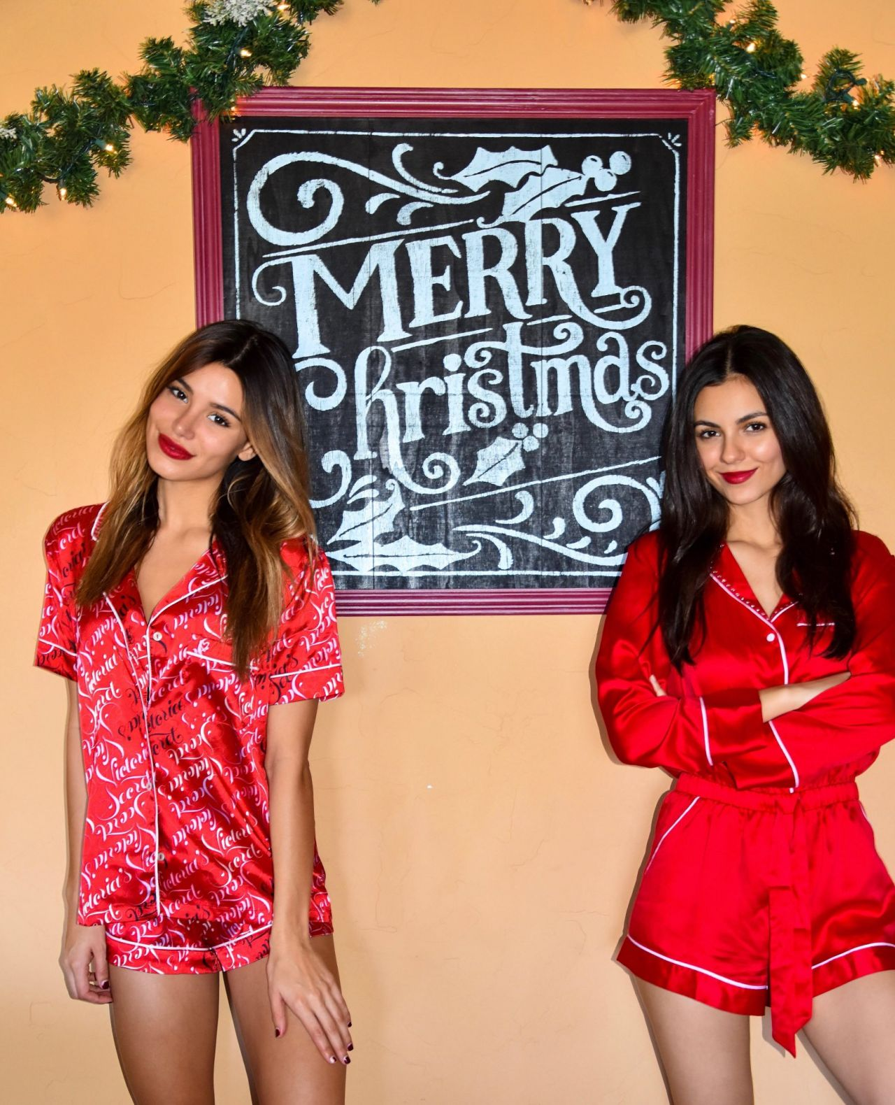 Madison Reed and Victoria Justice - Personal Photos 12/26