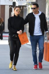 Maria Menounos and Husband Keven Undergaro - Out in Beverly Hills 12/21/2018