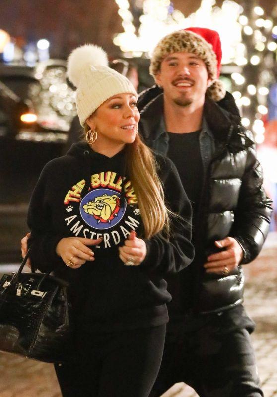 Mariah Carey - Christmas Shopping at Louis Vuitton in Aspen 12/24/2018