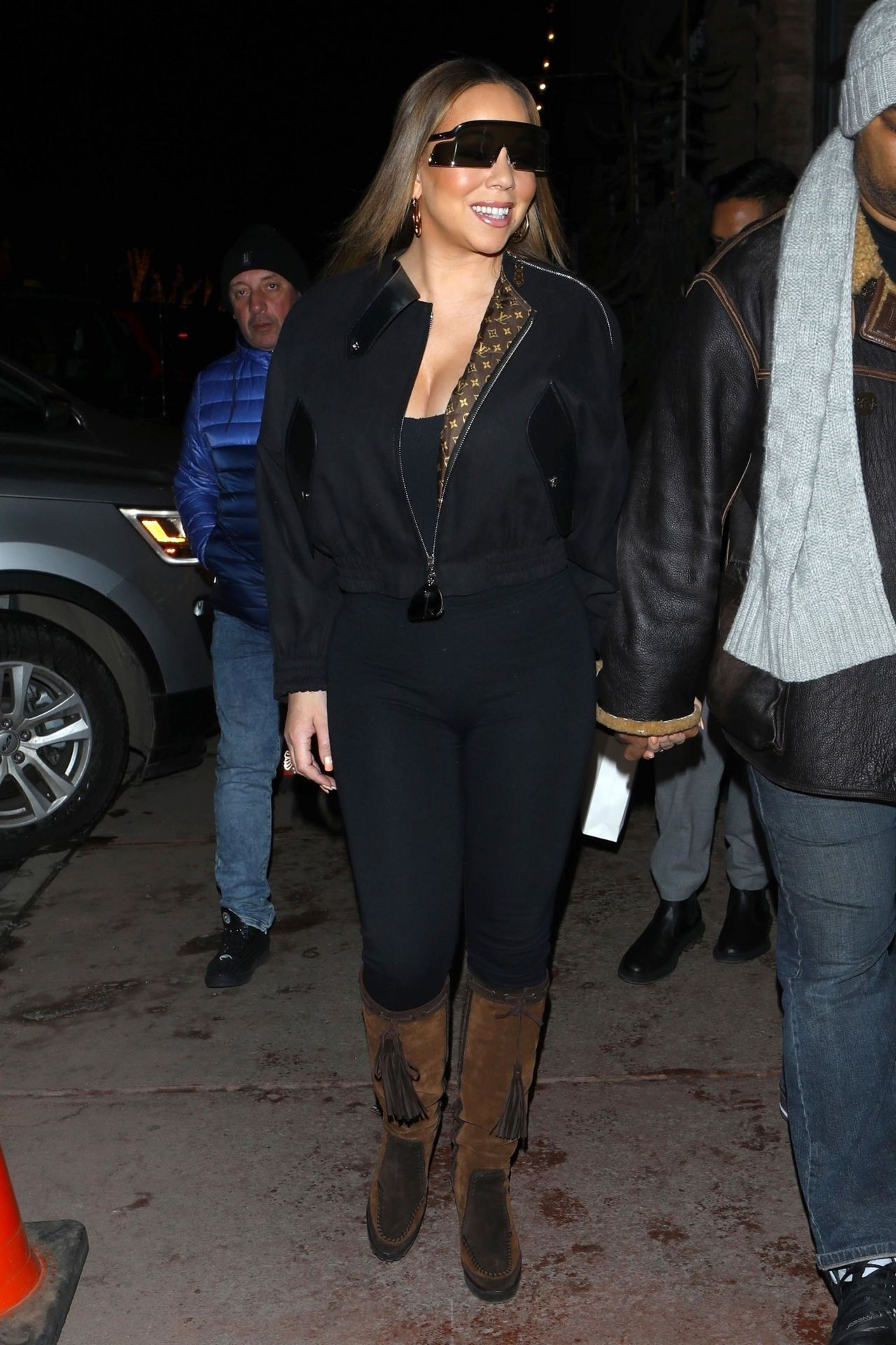Mariah Carey Shopping In Aspen 12 21 2018