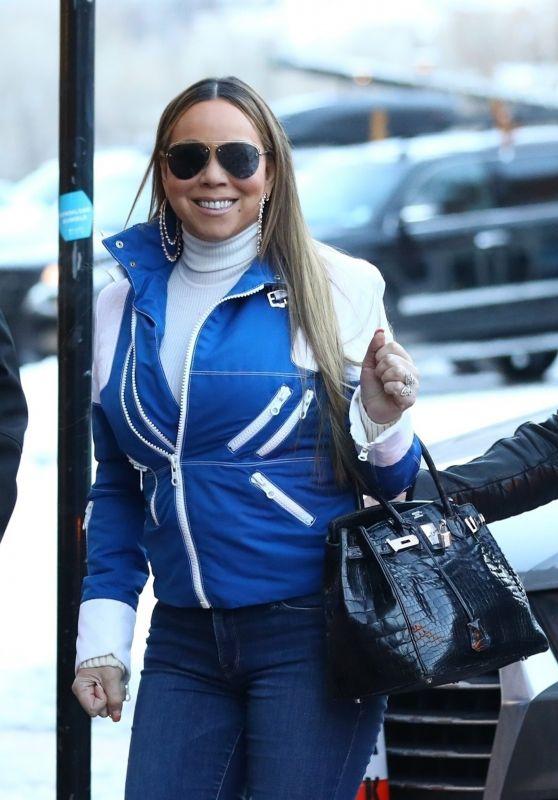 Mariah Carey Winter Style - Aspen 12/22/2018