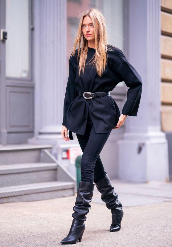 Martha Hunt Street Fashion 12/17/2018